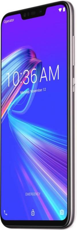 Смартфон Asus ZenFone MAX M2 ZB633KL 32ГБ серебристый (90AX01A4-M00070) - фото 5