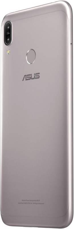 Смартфон Asus ZenFone MAX M2 ZB633KL 32ГБ серебристый (90AX01A4-M00070) - фото 7