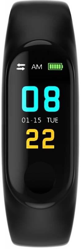 Смарт-браслет Smarterra Color TFT черный/черный - фото 1