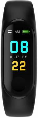 Смарт-браслет Smarterra FitMaster Color TFT черный/черный