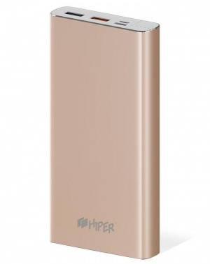 Мобильный аккумулятор HIPER MPX15000 золотистый (MPX15000 GOLD)