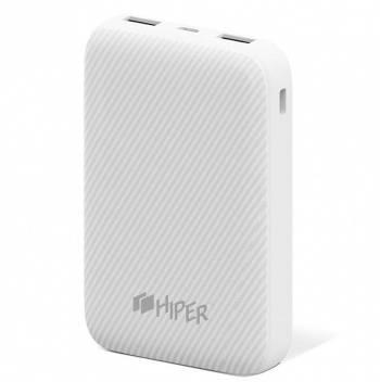 Мобильный аккумулятор HIPER SPX10000 белый (SPX10000 WHITE)