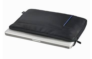 """Чехол для ноутбука 15.6"""" Hama Cape Town черный/синий (00101906) - фото 3"""