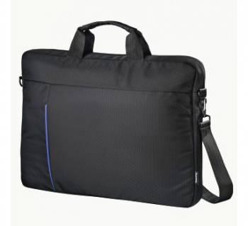 """Сумка для ноутбука 15.6"""" Hama Cape Town черный/синий (00101907)"""