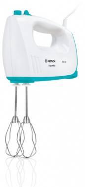 Миксер Bosch MFQ36300D белый/бирюзовый