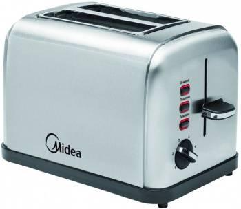 Тостер Midea MT-1400 серебристый