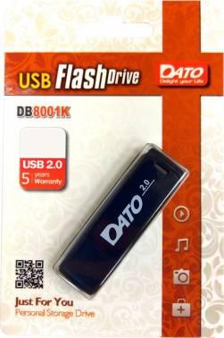 Флешка Dato DB8001 64ГБ USB2.0 черный (DB8001K-64G)