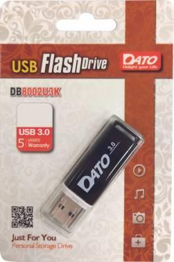 Флешка Dato DB8002U3 16ГБ USB3.0 черный (DB8002U3K-16G)