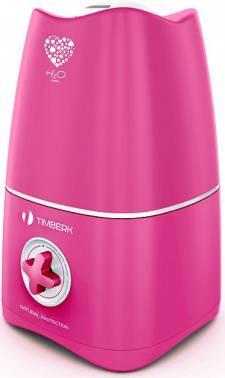 Увлажнитель воздуха Timberk THU UL 15M (M1) розовый