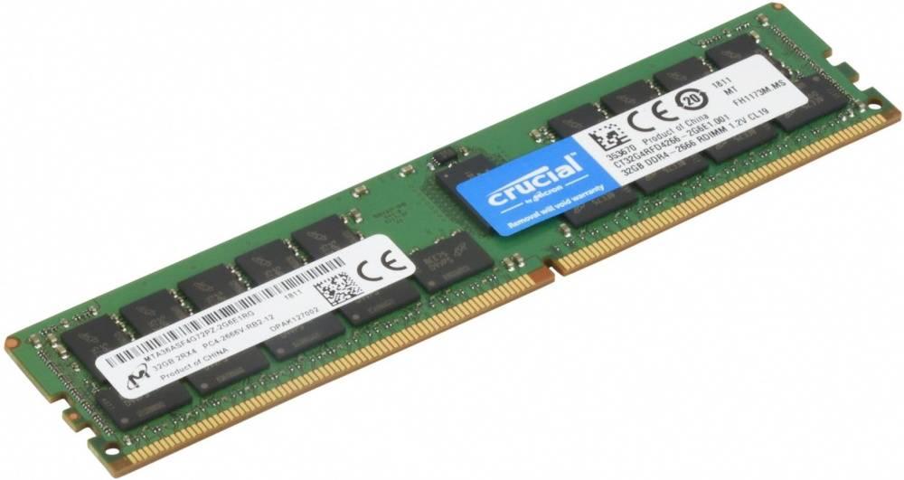 Модуль памяти DIMM DDR4 1x32Gb SuperMicro MEM-DR432L-CL03-ER26 - фото 1