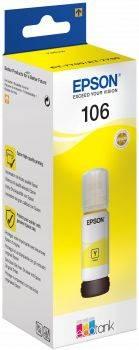 Картридж Epson 106Y желтый (C13T00R440)
