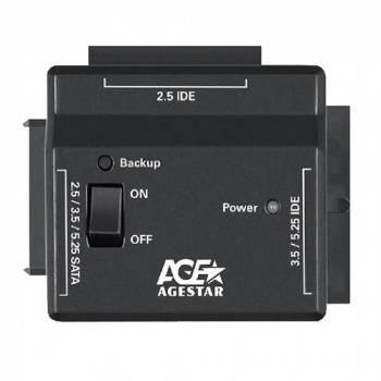 Универсальный переходник AgeStar FUBCP2 черный