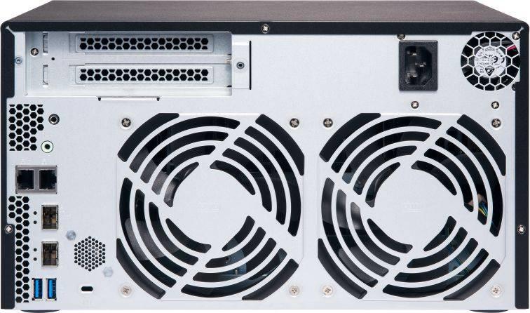Сетевое хранилище NAS Qnap TS-832X-2G черный - фото 4