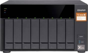 Сетевое хранилище NAS Qnap TS-832X-8G черный