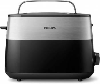 Тостер Philips HD2516 черный/стальной (HD2516/90)