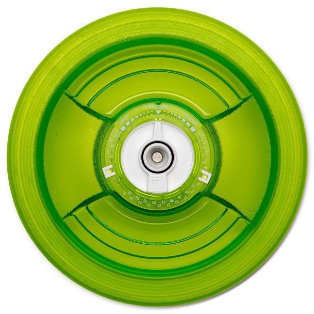 Крышка Zepter VacSy VS-018-16 зеленый диаметр 16см. - фото 1