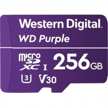 Карта памяти microSDXC 256Gb Class10 WD Purple (WDD256G1P0A)