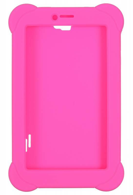Чехол Digma, для Digma Plane 7565N, розовый - фото 1