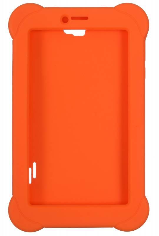 Чехол Digma, для Digma Plane 7565N, оранжевый - фото 1