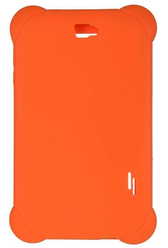 Чехол Digma, для Digma Plane 7565N, оранжевый - фото 2