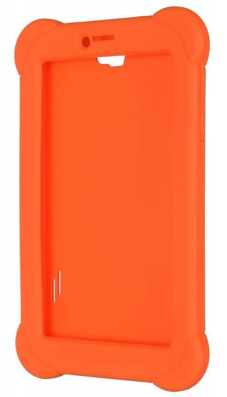Чехол Digma, для Digma Plane 7565N, оранжевый - фото 3