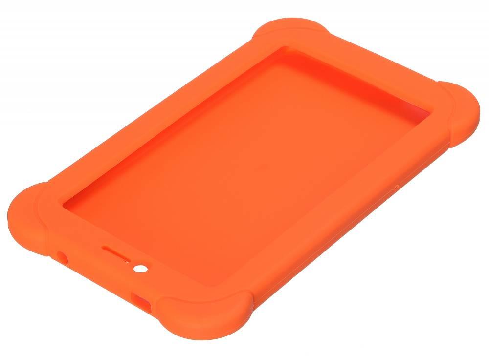 Чехол Digma, для Digma Plane 7565N, оранжевый - фото 5