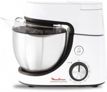 Кухонная машина Moulinex QA510110 планетар.вращ. 1100Вт белый