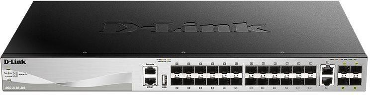 Коммутатор управляемый D-Link DGS-3130-30S DGS-3130-30S/A1A - фото 1