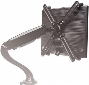 Кронштейн-адаптер для мониторов Arm Media LCD-M2 черный (10228)