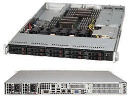 Корпус SuperMicro CSE-116TQ-R706WB 2 x 750 Вт черный (CSE-116TQ-R706WB)