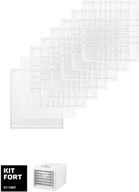 Сушка Kitfort КТ-1907 белый - фото 3