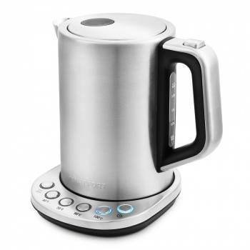 Чайник электрический Kitfort КТ-638 серебристый