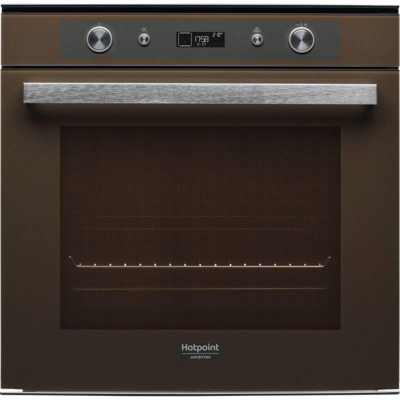 Духовой шкаф электрический Hotpoint-Ariston FI7 861 SH CF HA кофейный (96808) - фото 1