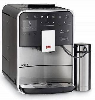 Кофемашина Melitta Caffeo F 860-100 серебристый/черный (21785)