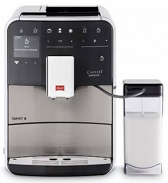 Кофемашина Melitta Caffeo F 840-100 серебристый/черный (21782)