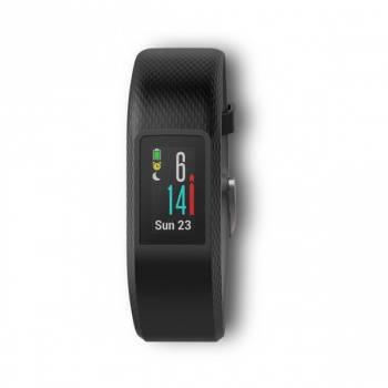 Смарт-браслет Garmin Vivosport GPS S/M OLED черный/черный