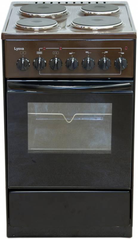 Плита электрическая Лысьва ЭП 43р3 коричневый (ЭП 43Р3 BROWN) - фото 1
