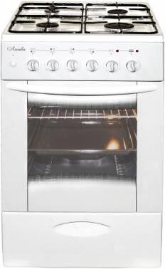 Плита комбинированная Лысьва ЭГ 404 М2С-2у белый, без крышки