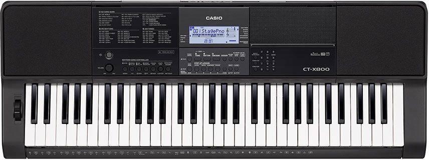 Синтезатор Casio CT-X800 черный - фото 1