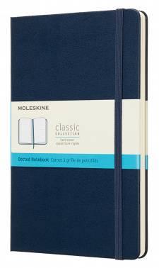 Блокнот Moleskine CLASSIC Large синий сапфир (QP066B20)
