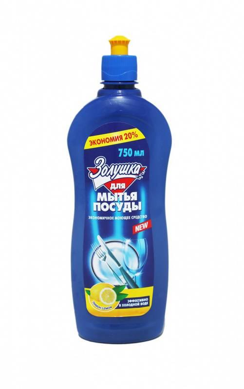 Средство для мытья посуды Золушка 0.75л лимон (М11-1) - фото 1