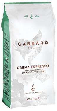 Кофе зерновой Carraro Crema Espresso 1000 грамм