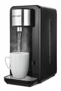 Термопот Kitfort КТ-2504 черный/серебристый