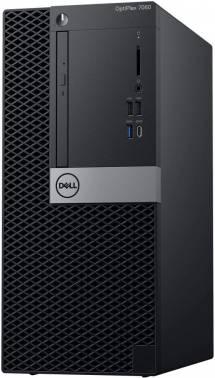 Компьютер Dell Optiplex 7060 черный/серебристый (7060-7617)