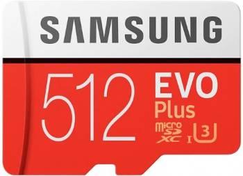 Карта памяти microSDXC 512Gb Class10 Samsung EVO PLUS (MB-MC512GA/RU)