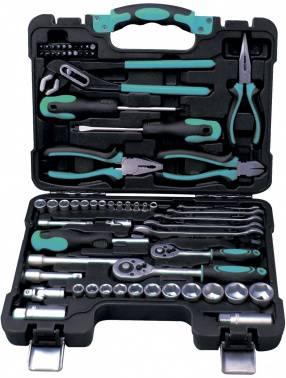 Набор инструментов Bort BTK-65, 65 предметов (91279187)