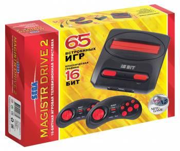 Игровая консоль Magistr Drive 2 Little черный (MAGISTR DRIVE 2)