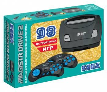 Игровая консоль Magistr Drive 2 Little черный (SEGA MAGISTR DRIVE 2)