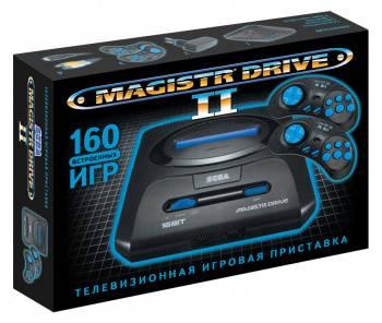 Игровая консоль Magistr Drive 2 черный (SEGA MAGISTR DRIVE 2)