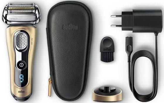 Электробритва Braun Series 9 9299PS черный/золотистый (81645067) - фото 3